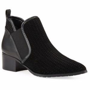 Donald Pliner Darla 2 Perforated Suede Ankle Boot